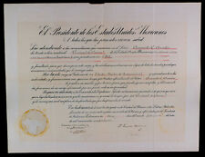 MEXICAN PRESIDENT PLUTARCO ELIAS CALLES AUTHENTIC HISTORICAL SIGNED DOCUMENT