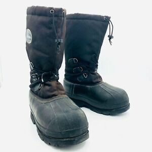 LaCrosse Tall Black Winter Snow Boots Mens Size 10