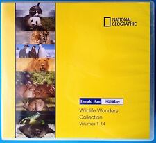 NATIONAL GEOGRAPHIC: Wildlife Wonders Collection(14 Disc DVD Set) PAL Reg.4 MINT