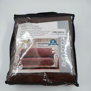 NEW Cala Reversible Sofa Cover, Water Resistant Slipcover Furniture Protector