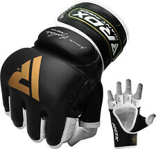 RDX Grappling MMA Boxing Gloves Punching Fighting Wraps Training Sparring