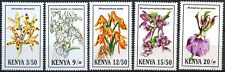 Kenya 1994 SG#621-5 Orchids, Flowers MNH Set #E4514