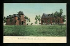 Pennsylvania Pa postcard Elizabethtown College Vintage