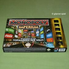 Monopoly Imperium  Big Business mit den Topmarken der Welt von Hasbro 1A Top!