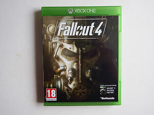 Fallout 4 on Xbox ONE in MINT Condition (Includes 'Perk Poster')
