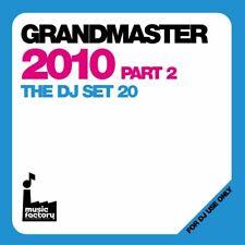 Mastermix Gran Maestro 2010 Pt2 grafico musica continua MEGAMIX DOPPIO CD DJ