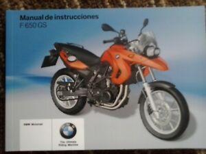 Manual instrucciones BMW F-650-GS b