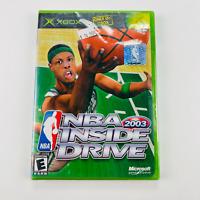 NBA Inside Drive 2003 - XBOX Microsoft NIB Factory Sealed Complete Paul Pierce
