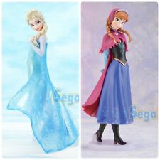Frozen Premium Figure Elsa Anna Set of 2 SEGA Japan