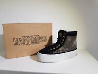 Happiness Sneakers Donna  Sconto - 75 % Art. 93 / 13 Zip - Col. Nero