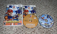 Mario & Sonic at the Olympic Games Beijing 2008 & Winter Games Nintendo Wii Lot