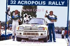 Timo Salonen Peugeot 205 Turbo 16 E2 Winner Acropolis Rally 1985 Photograph 2