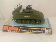 DINKY 691 STRIKER ANTI TANK VEHICLE MIB, IMMACULATE