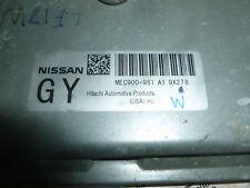 NISSAN VERSA ECU ECM COMPUTER NUMBER MEC900-981