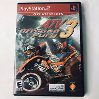 PS 2 ATV Offroad Fury 3 GREATEST HITS Sony PlayStation 2 PS2 2004 Racing Rated E