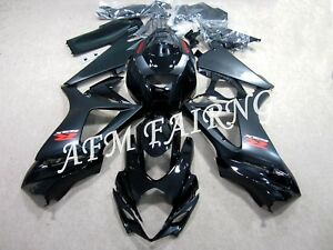 Black ABS Injection Mold Bodywork Fairing Kit Panel Cone for GSXR1000 2007 2008