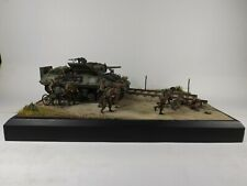 1/35 BRITISH D-DAY GMC M10 'WOLVERINE' TANK DESTROYER  NEWLY BUILT DIORAMA