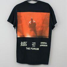 Authentic Kanye West Men Medium Saint Pablo Photo Tour Merch T-Shirt NWOT G375