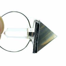 50-60 MM Long Natural Crystal Pointed Multi Fluorite Pyramid Dowsing Pendulum