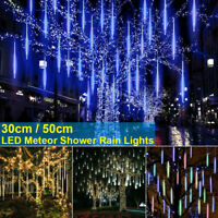 50 CM 320 LED Lights Meteor Shower Rain  Tree Outdoor Light Garden Party D