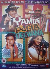YAMLA PAGLA DEEWANA - ORIGINAL EROS BOLLYWOOD DVD -Dharmendra, Sunny Deol, Bobby