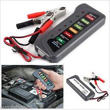 New 12V Car Off-Road  Battery Alternator Tester Kit With 6LED Lights Display Kit