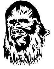 Star Wars Chewbacca vinyl car Decal / Sticker