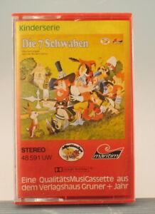 HÖRSPIEL - Die 7 Schwaben - NEU & OVP - Maritim - MC Kassette - Märchen 48591