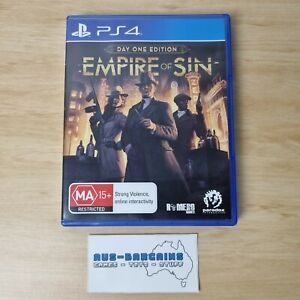 Empire of Sin Day One Edition - PS4 Sony PlayStation 4 R4 AUS PAL