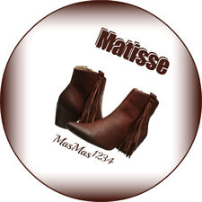 Matisse Women's Shields Boot - Size US 8.5 - Color: Brick - New - Fast Shipping