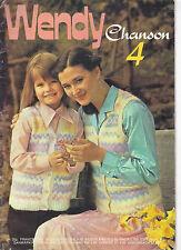 Wendy Chanson 4 PATTERN BOOK 12 designs