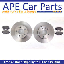 Hyundai Coupe 1.6 2.0 2.7 2002-2009 Rear Brake Discs & Pads