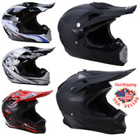 DOT Adult Motorcycle Motocross Off-Road ATV Mountain Dirt Bike Snowmobile Helmet