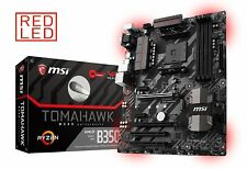MSI AMD Ryzen B350 TOMAHAWK AM4 DDR4 USB 3.0 HDMI Crossfire ATX Motherboard