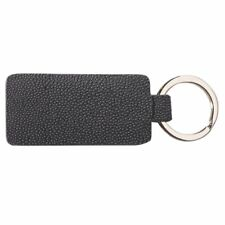 Sea Star Wonderful Crafted Glamour Durable Keychain With Stingray Leather - Grey