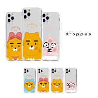 Official KAKAO FRIENDS BBOBBO Clear Jelly Phone Case Cover For Samsung iPhone
