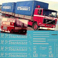 Volvo F12 / Scania H.P. Traoré Toiles DK 1:24 camion autocollant décalcomanie