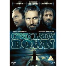 Gray Lady Down NEW PAL Cult DVD Charlton Heston