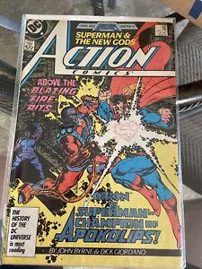 Action Comics #586 (Mar 1987, DC) Good Quality