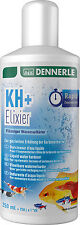 Dennerle kh + elixir elixier eau durcisseur augmenter la dureté du carbonate ph 250ml