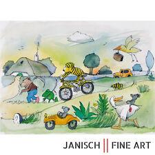 """JANOSCH - """"alle gehen hier nach links"""", handsigniert, Auflage 99, 2013!"""