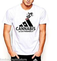 Marijuana T-Shirt, Weed , Cannabis, 420, blunt, bong, drugs men swag cotton tee