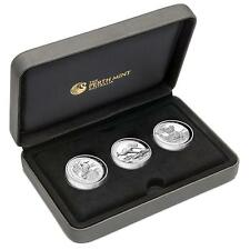 2015 Australian High Relief Silver Proof Three-Coin Collection