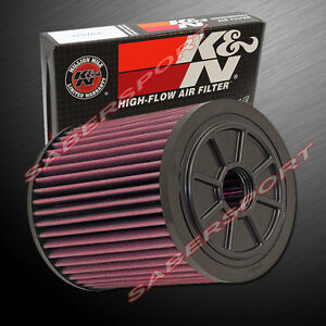 K&N E-0664 Hi-Flow Air Intake Washable Drop in Filter for Audi 2013-2018 RS6 RS7