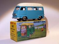 Renault Estafette camping  - ref 565 au 1/43 de dinky toys atlas