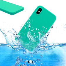 Mint Waterproof Shockproof DirtProof TPU Full Body Case Cover For Apple iPhone X