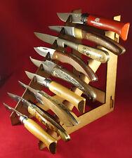 Présentoir en médium pour 9 couteaux