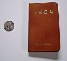 1964 Calendar Bank Records Book From Bowman Dairy River Forest Illinois