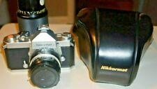 Nikon Nikkormat FTN Film SLR Camera  Nikkor 50mm f/2 Mint