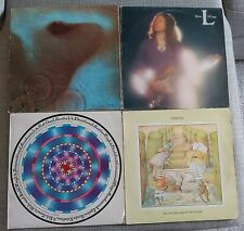 COLLECTION OF 4 x CLASSIC PROG/ROCK LP's-PINK FLOYD,GENESIS,HILLAGE & CURVED AIR